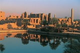 Great Temple of Amon, View from Sacred Lake Photographic Print