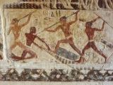 Egypt, Cairo, Saqqara, Mastaba of 'twin Brothers' Ra Priests Niankhkhnum and Khnumhotep Photographic Print