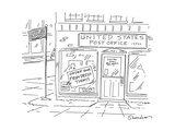 United States Post OfficeOrder your Prom Dress Today - Cartoon Premium Giclee Print by Danny Shanahan