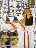 Egypt, Thebes, Luxor Fotografisk tryk