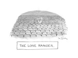The Lone Ranger - Cartoon Premium Giclee Print by Mike Twohy