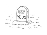 YODO - Cartoon Regular Giclee Print by Danny Shanahan
