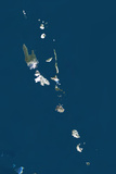 Vanuatu, True Colour Satellite Image Photographic Print