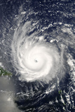 Satellite Image of Hurricane Frances, Atlantic Ocean, on 31/08/2004 Photographic Print