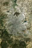 Satellite Image of Mexico City Photographic Print