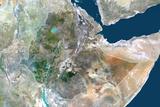 Satellite Image of Ethiopia Photographic Print