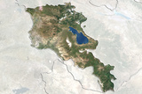 Armenia Satellite Maps