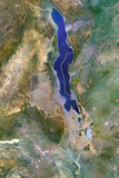 Satellite Image of Malawi Photographic Print
