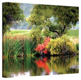 George Zucconi 'Santee Lakes' Wrapped Canvas Gallery Wrapped Canvas by George Zucconi