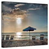 Steven Ainsworth 'Tropical Ease' Gallery-Wrapped Canvas Stretched Canvas Print by Steven Ainsworth