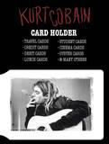 Kurt Cobain Card Holder Wallet Wallet