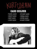 Kurt Cobain Card Holder Wallet Wallet