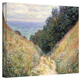 Claude Monet 'Footpath' Wrapped Canvas Art Stretched Canvas Print by Claude Monet