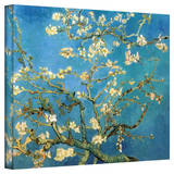 Vincent van Gogh 'Blossoming Almond Tree' Wrapped Canvas Stretched Canvas Print by Vincent van Gogh