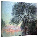 Claude Monet 'Antibbes' Wrapped Canvas Art Stretched Canvas Print by Claude Monet