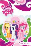 My Little Pony - Group Vinyl Sticker Tarrat