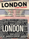 London Places Card Holder Originalt