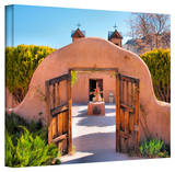 Steve Ainsworth 'Gate to Chimayo' Gallery-Wrapped Canvas Gallery Wrapped Canvas by Steven Ainsworth