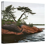 Ken Kirsch 'Windswept' Wrapped Canvas Gallery Wrapped Canvas by Ken Kirsch