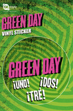 Green Day Vinyl Sticker Stickers
