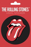 The Rolling Stones Vinyl Sticker Stickers