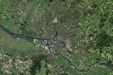 Satellite Image of Hamburg, Germany Photographic Print