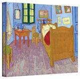 Vincent van Gogh 'The Bedroom' Wrapped Canvas Art Stretched Canvas Print by Vincent van Gogh