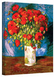 Vincent van Gogh 'Poppies' Wrapped Canvas Art Stretched Canvas Print by Vincent van Gogh