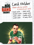 Big Bang Theory Bazinga Card Holder Originalt