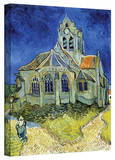 Vincent van Gogh 'The Church at Auvers' Wrapped Canvas Art Stretched Canvas Print by Vincent van Gogh