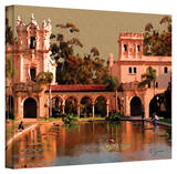George Zucconi 'Lily Pond, Balboa Park' Wrapped Canvas Stretched Canvas Print by George Zucconi