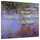 Claude Monet 'Sea Roses II' Gallery Wrapped Canvas Stretched Canvas Print by Claude Monet