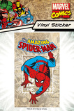 Marvel - Spiderman Vinyl Sticker Klistermærker