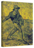Vincent van Gogh 'The Sower' Wrapped Canvas Art Gallery Wrapped Canvas by Vincent van Gogh