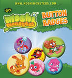 Moshi Monsters 1 Badge Pack Badge