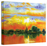 Susi Franco 'The Zen of Italy' Gallery-Wrapped Canvas Stretched Canvas Print by Susi Franco