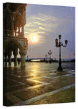 George Zucconi 'Venice Piazza 2' Wrapped Canvas Stretched Canvas Print by George Zucconi