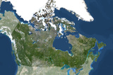 Canada from Space Photographic Print