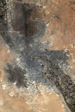 Satellite Image of El Paso, Texas, USA Photographic Print