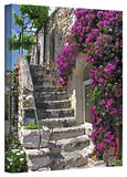 George Zucconi 'St Paul de Vence, France' Wrapped Canvas Stretched Canvas Print by George Zucconi