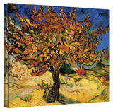 Vincent van Gogh 'The Mulberry Tree' Wrapped Canvas Stretched Canvas Print by Vincent van Gogh