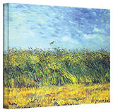 Vincent van Gogh 'Green Wheat Fields' Wrapped Canvas Art Stretched Canvas Print by Vincent van Gogh