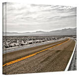 Mark Ross 'Slow Curves' Gallery-wrapped Canvas Art Stretched Canvas Print by Mark Ross