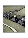 WW1 Book Cover Giclee Print