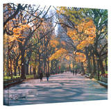 George Zucconi 'Central Park Wrapped Canvas Stretched Canvas Print by George Zucconi