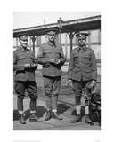 WW1 British Soldiers & Dog Giclee Print