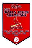 St. Louis Cardinals Banner Tin Sign Carteles metálicos