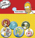 The Simpsons Badge Pack Badge