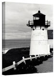 Kathy Yates 'Montara Lighthouse' Canvas Art Stretched Canvas Print by Kathy Yates