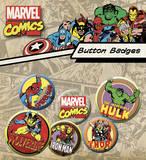 Marvel Badge Pack Badge